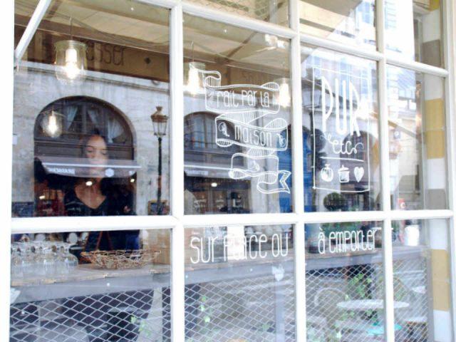 Restaurant alimentation PUR etc VERSAILLES - Rue Clemenceau France Biologiques écologiques Ulocal produit local achat local