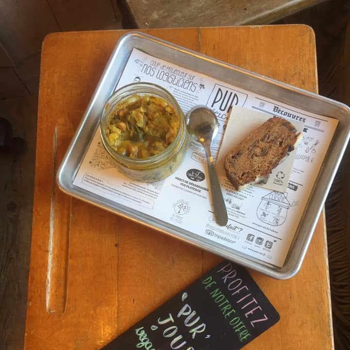 Restaurant alimentation PUR etc - STRASBOURG - Place Saint Étienne France Biologiques écologiques Ulocal produit local achat local
