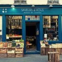 Organic fruit and vegetable grocery store Saveurs et Vous Paris France local producers Ulocal local produce local purchase local produce