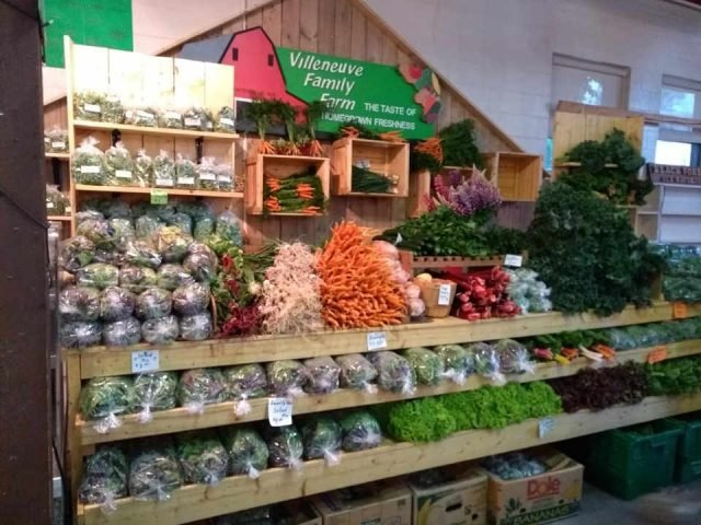 Family Farmers Meat Sales Organic Fruit and Vegetables Villeneuve Family Farm NB Wicklow Ulocal Local Product Local Purchase