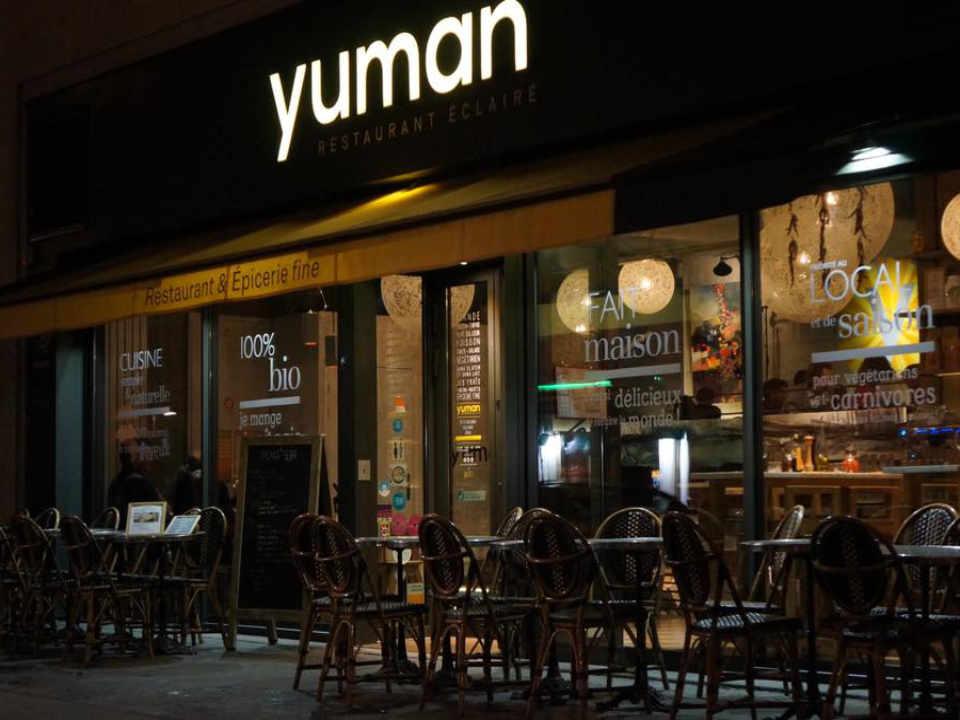 Restaurant biologiques écologiques Yuman Paris France Ulocal produit local achat local produit du terroir