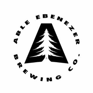 Microbrewery logo Able Ebenezer Brewing Company Merrimack New Hampshire USA Ulocal Local Product Local Purchase