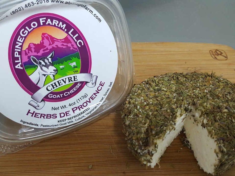 Fromagerie fromage de chèvre AlpineGlo Farm Westminster Vermont États-Unis Ulocal produit local achat local