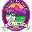 Fromagerie logo AlpineGlo Farm Westminster Vermont États-Unis Ulocal produit local achat local