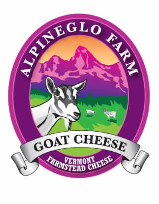 Fromagerie logo AlpineGlo Farm Westminster Vermont États-Unis Ulocal produit local achat local