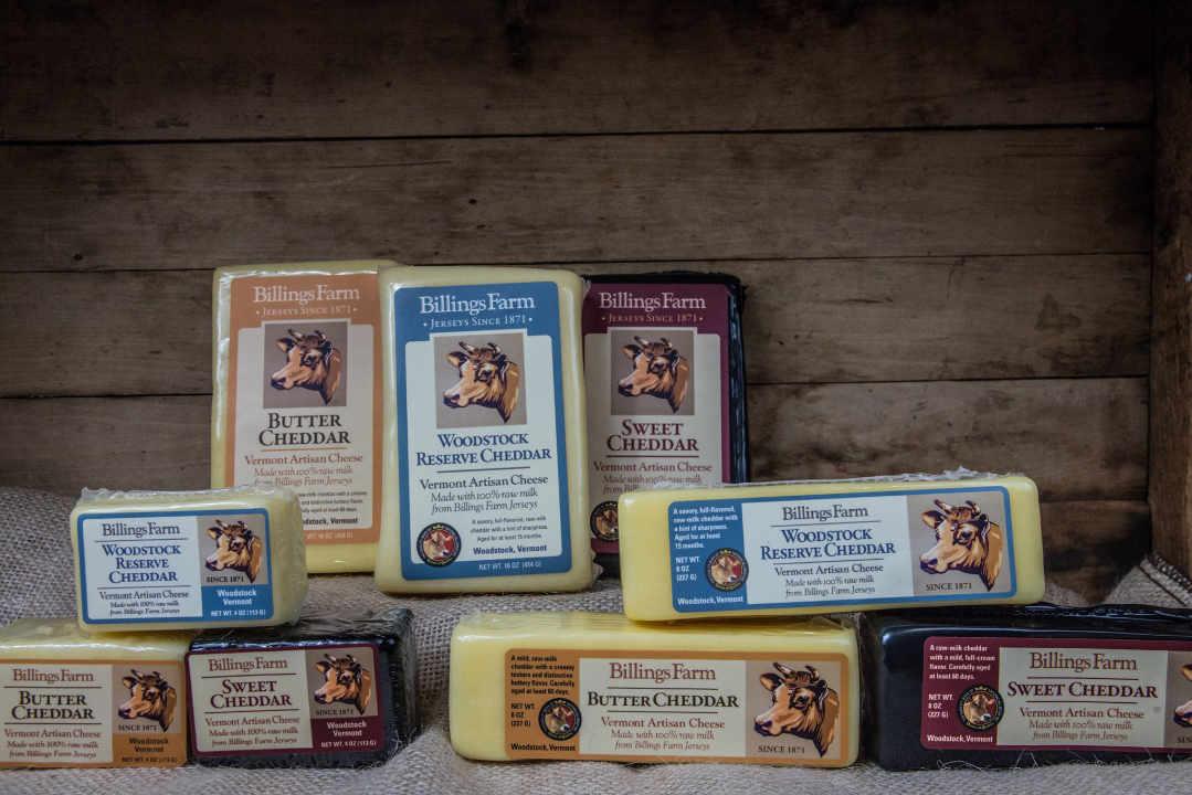 Fromagerie cheddar Billings Farm & Museum Woodstock Vermont États-Unis Ulocal produit local achat local