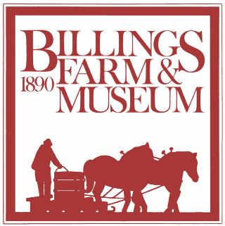 Fromagerie logo Billings Farm & Museum Woodstock Vermont États-Unis Ulocal produit local achat local