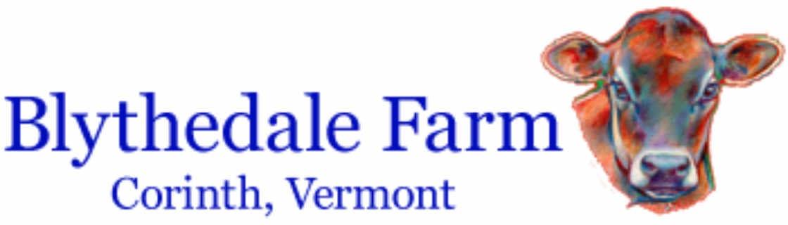 Fromagerie logo Blythedale farm Corinth Vermont États-Unis Ulocal produit local achat local