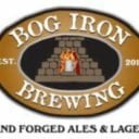 Microbrasserie logo Bog Iron Brewing Norton Massachusetts États-Unis Ulocal produit local achat local