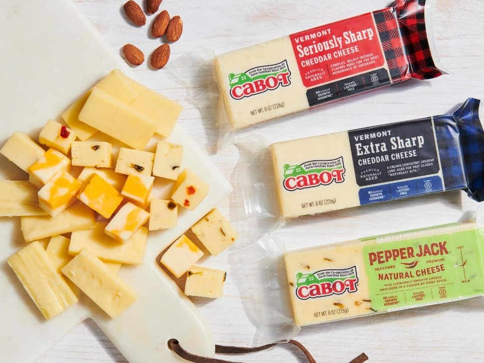 Fromagerie fromage Cabot Creamery Cooperative Cabot Vermont États-Unis Ulocal produit local achat local