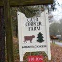 Fromagerie enseigne Cato Corner Farm Colchester Connecticut États-Unis Ulocal produit local achat local