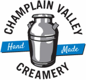 Fromagerie logo Champlain Valley Creamery Middlebury Vermont États-Unis Ulocal produit local achat local