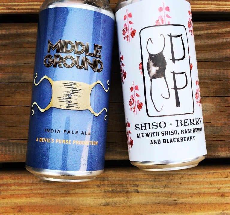 Microbrasserie canettes de bière Devil's Purse Brewing Co. South Dennis Massachusetts États-Unis Ulocal produit local achat local