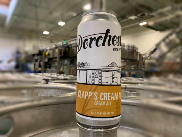 Microbrewery beer can Dorchester Brewing Company Dorchester Massachusetts United States Ulocal local product local purchase
