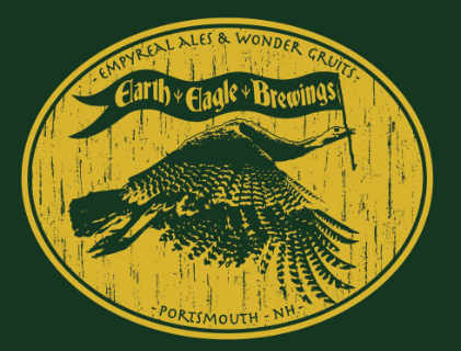 Microbrewery logo Earth Eagle Brewings Portsmouth New Hampshire United States Ulocal Local Product Local Purchase