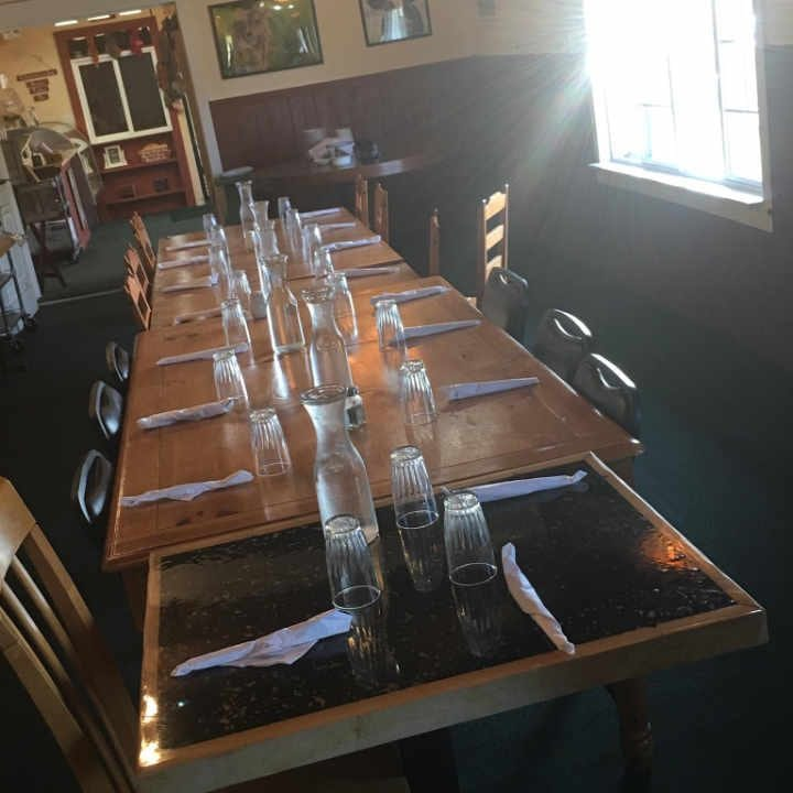 Restaurant intérieur Farmhouse Pantry Saranac New York États Unis Ulocal produit local achat local