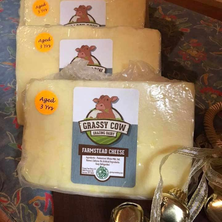 Fromagerie fromage Grassy Cow Grazing Dairy Remsen New York États-Unis Ulocal produit local achat local