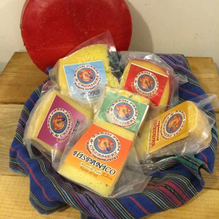 Cheese factory cheese Karim Farm & Dairy Ryegate Vermont United States Ulocal local product local purchase