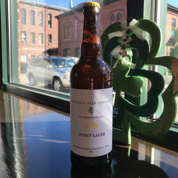 Microbrasserie bouteille de bière The Kells Beer Company Natick Massachusetts États-Unis Ulocal produit local achat local