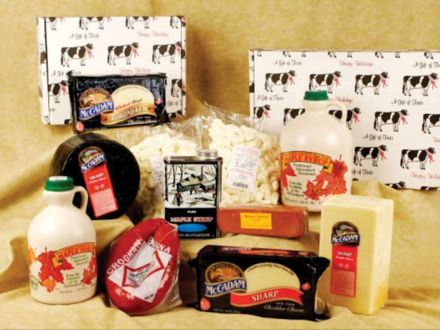 Fromagerie fromage Lowville Producers Cheese Store Lowville New York États-Unis Ulocal produit local achat local