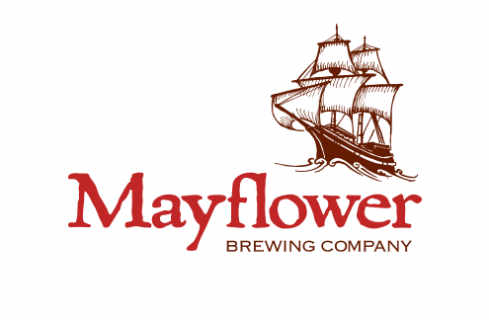 Microbrewery logo Mayflower Brewing Company Plymouth Massachusetts United States Ulocal Local Product Local Purchase