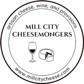 Cheese factory logo Mill City Cheesemongers Lowell Massachusett United States Ulocal Local Product Local Purchase