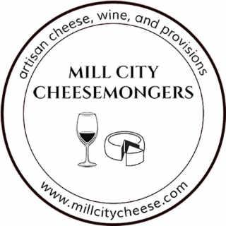 Fromagerie logo Mill City Cheesemongers Lowell Massachusett États-Unis Ulocal produit local achat local