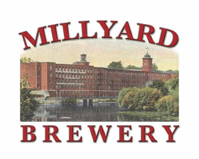 Microbrasserie logo Millyard Brewery Nashua New Hampshire États-Unis Ulocal produit local achat local