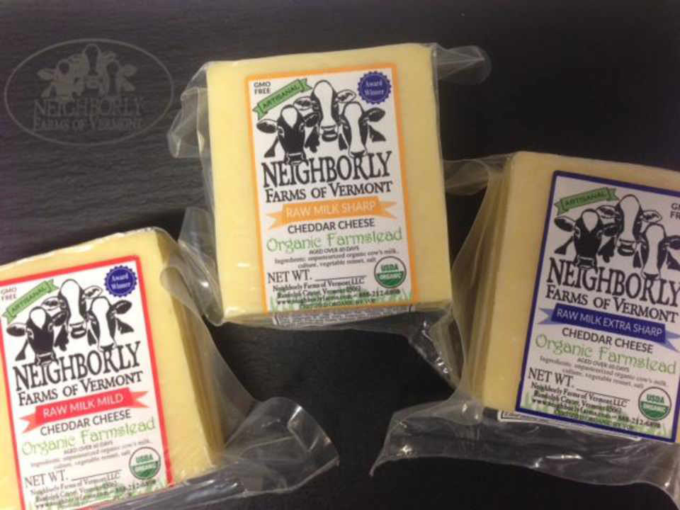 Fromagerie fromage Neighborly Farms of Vermont Randolph Center Vermont États-Unis Ulocal produit local achat local
