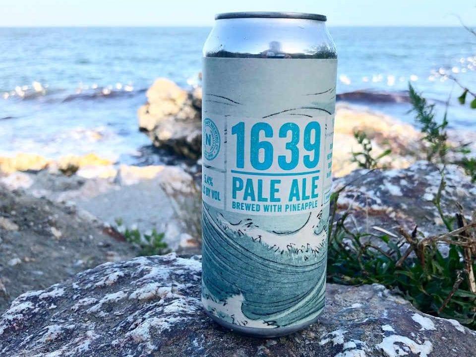Microbrasserie canette de bière Newport Craft Brewing + Distilling Co. Newport Rhode Island États-Unis Ulocal produit local achat local