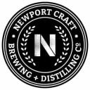 Microbrasserie logo Newport Craft Brewing + Distilling Co. Newport Rhode Island États-Unis Ulocal produit local achat local