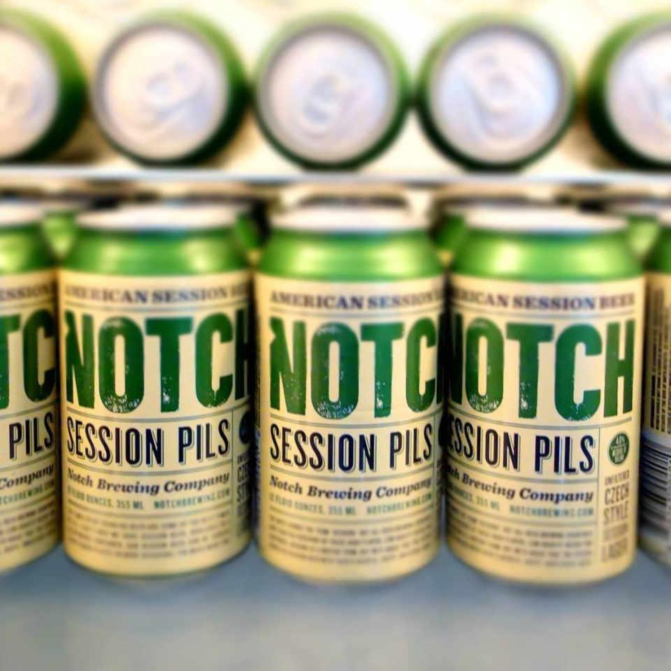 Microbrasserie canette de bière Notch Brewing Salem Massachussets États-Unis Ulocal produit local achat local