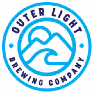 Microbrasserie logo Outer Light Brewing Company Groton Connecticut États-Unis Ulocal produit local achat local