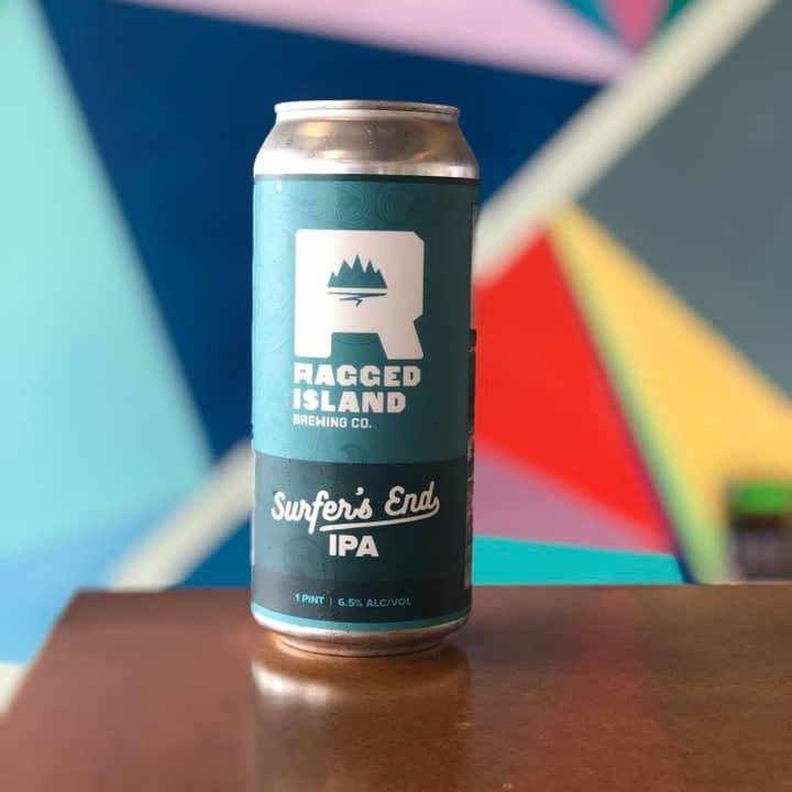 Microbrasserie canettes de bière Ragged Island Brewing Co. Portsmouth Rhode Island États-Unis Ulocal produit local achat local