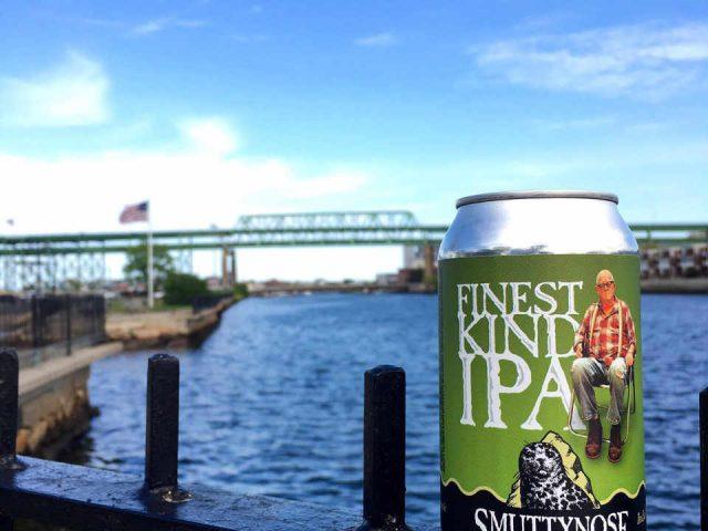 Microbrasserie canette de bière Smuttynose Brewing Company Hampton New Hampshire États-Unis Ulocal produit local achat local