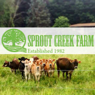 Cheese Factory Logo Sprout Creek Farm Poughkeepsie New York United States Ulocal Local Product Local Purchase