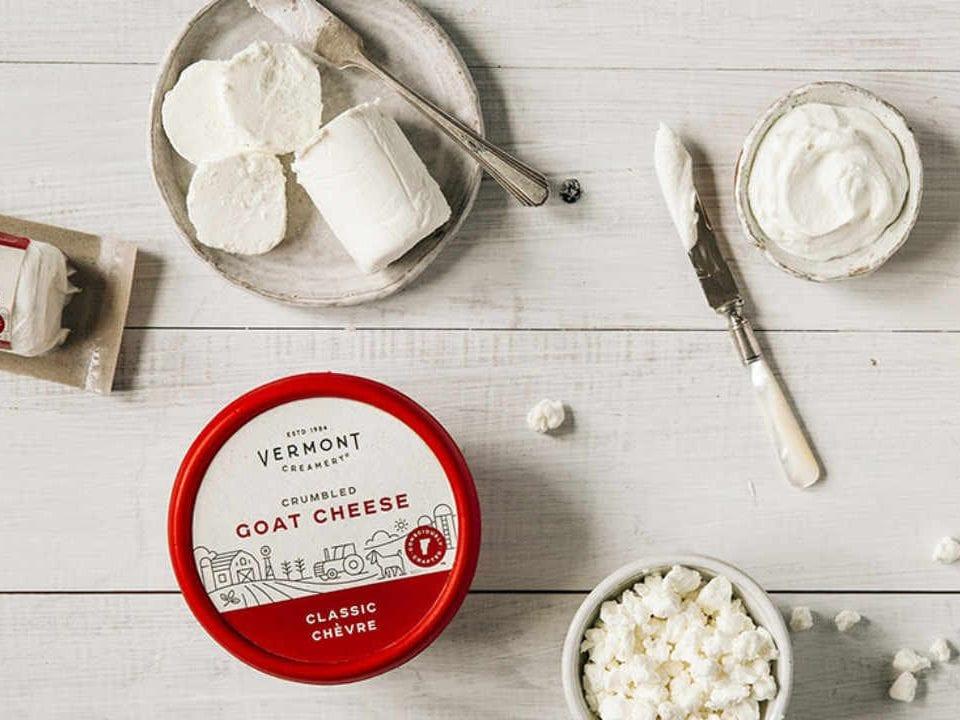 Fromagerie fromage de chèvre Vermont Creamery Websterville Vermont États-Unis Ulocal produit local achat local