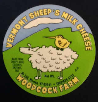 Fromagerie logo Woodcock Farm Cheese Company Weston Vermont États-Unis Ulocal produit local achat local