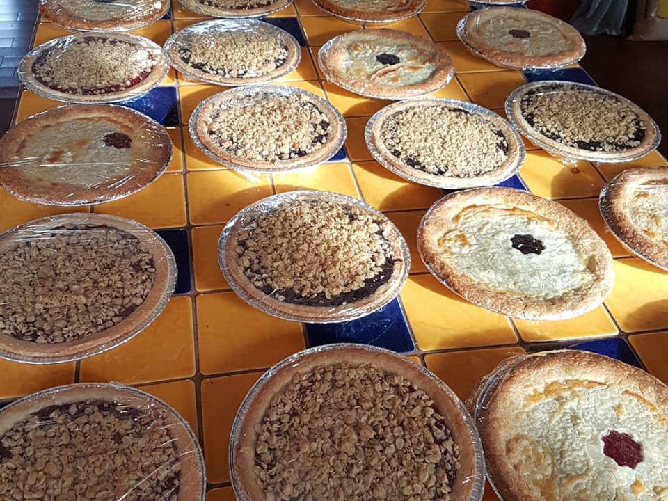 autocueillette lots de tartes fraîches fait au bleuets ou framboises bleuetière st-thomas saint-zotique québec canada ulocal produits locaux achat local produits du terroir locavore touriste