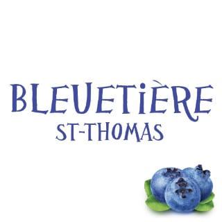 autocueillette logo bleuetière st-thomas saint-zotique québec canada ulocal produits locaux achat local produits du terroir locavore touriste