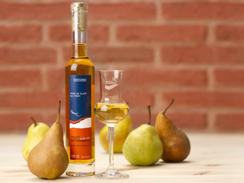 Alcool boutique cidre de glaces vins Domaine des Salamandres Hemmingford Québec Ulocal produit local achat local produit du terroir