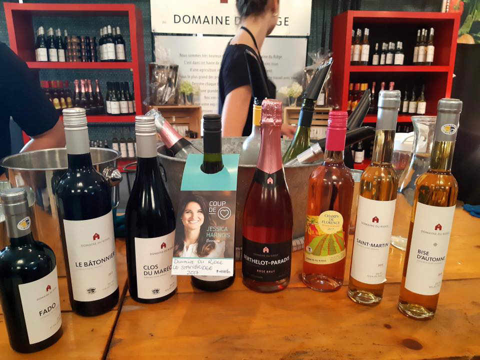 Vineyard alcohol food Domaine du Ridge Saint-Armand Quebec Ulocal local product local purchase local product
