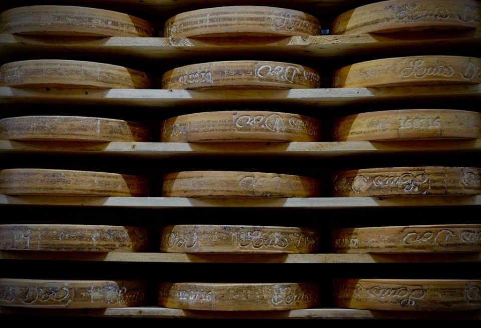 Fromagerie boutique alimentation Fromagerie du Presbytère Warwick Québec Ulocal produit local achat local produit du terroir