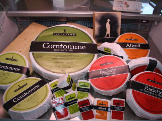 Fromagerie alimentation Fromagerie La Station Compton Québec Ulocal produit local achat local produit du terroir