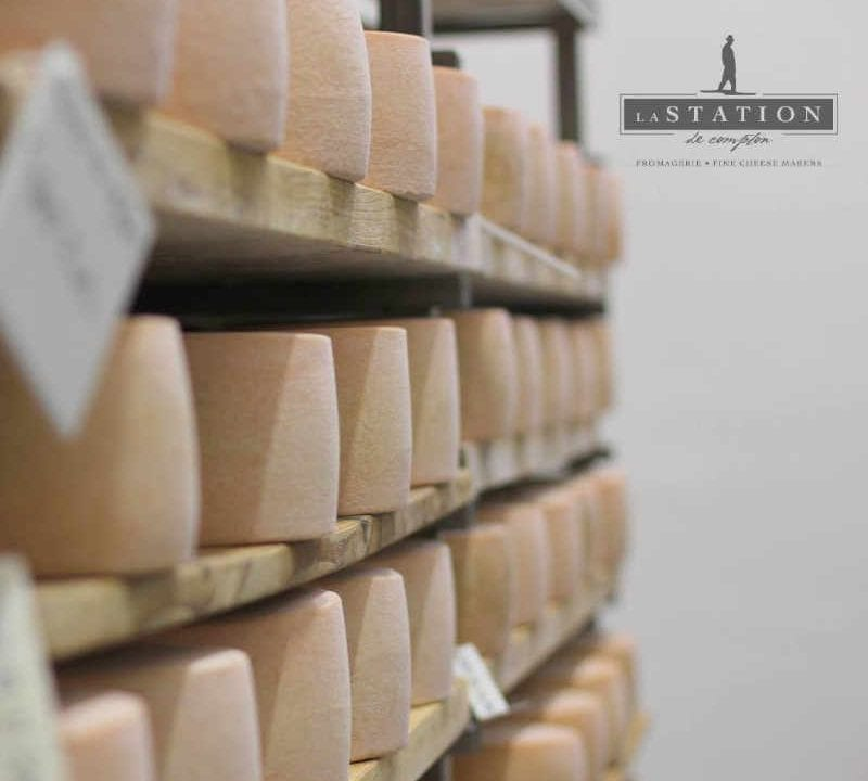 Cheese dairy Fromagerie La Station Compton Quebec Ulocal local product local purchase local product