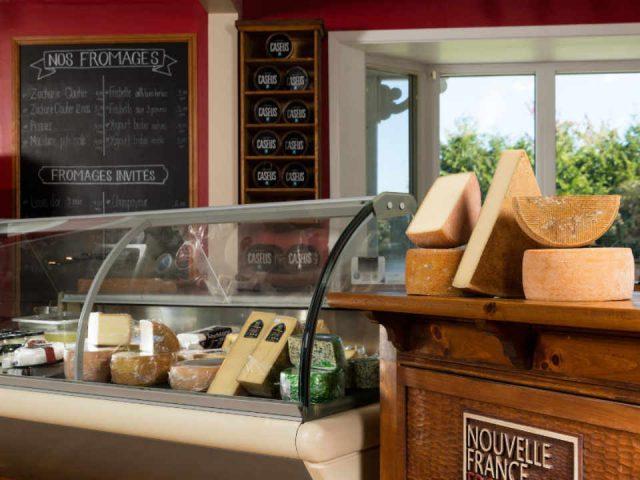 Fromagerie boutique vente de viandes Fromagerie Nouvelle France Racine Québec Ulocal produit local achat local produit du terroir