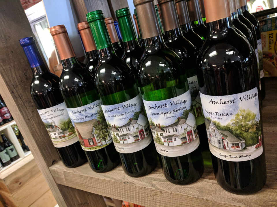 Microbrasserie bouteille de vin IncrediBREW Nashua New Hampshire États-Unis Ulocal produit local achat local