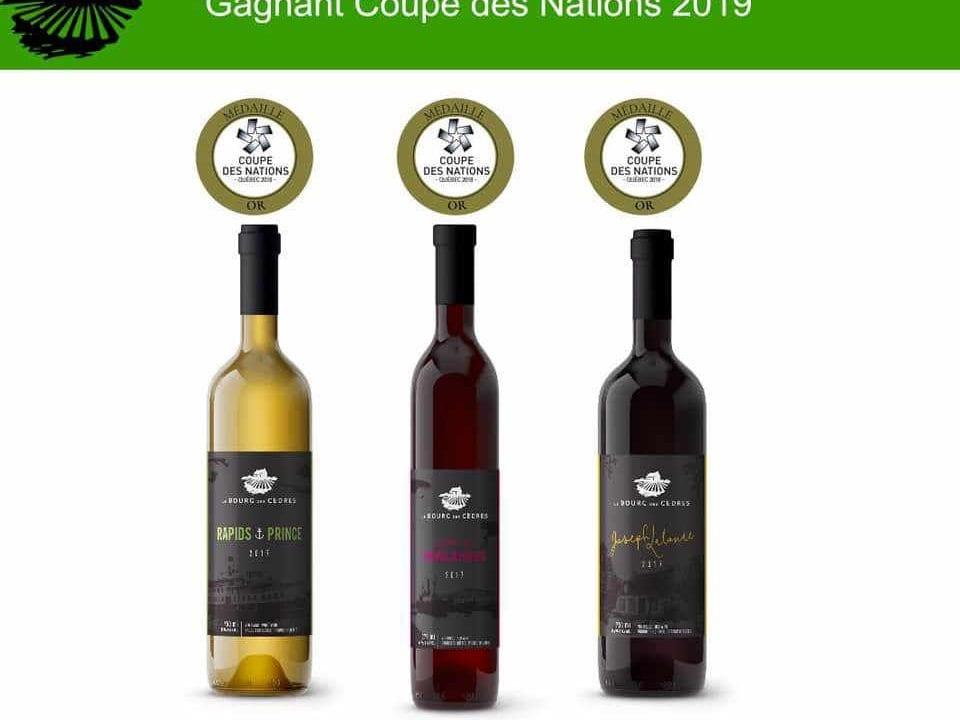 Vignoble alcool alimentation Le Bourg des Cèdres Les Cèdres Québec Ulocal produit local achat local produit du terroir