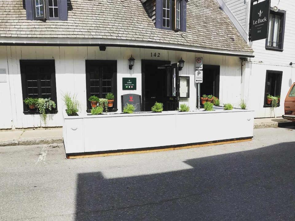 Restaurant alcool alimentation Le Buck Trois-Rivières Québec ulocal produit local achat local produit du terroir