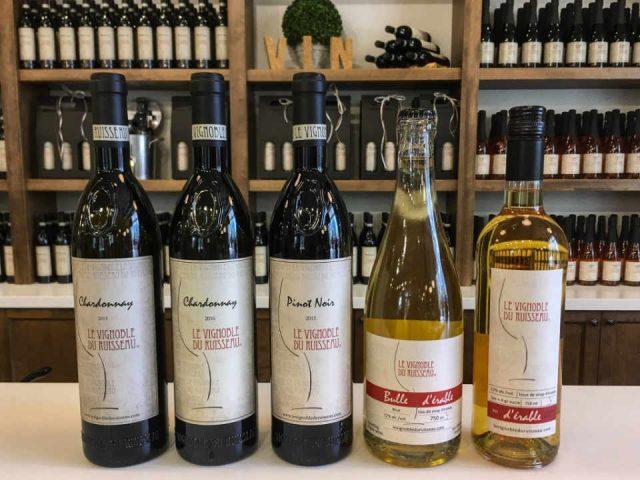 Vignoble alcool érablière biologique boutique Le Vignoble du Ruisseau Dunham Québec Ulocal produit local achat local produit du terroir